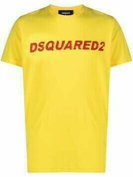 Dsquared2 logo-print short-sleeve T-shirt - Yellow