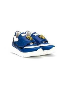 Bumper Lamborghini patch sneakers - Blue