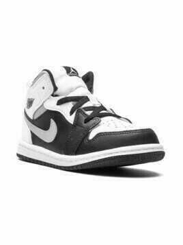 "Jordan Kids Air Jordan 1 Mid ""White Shadow"" sneakers - Black"