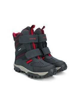 Geox Kids touch-strap boots - Grey
