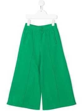 Marni Kids wide leg trousers - Green