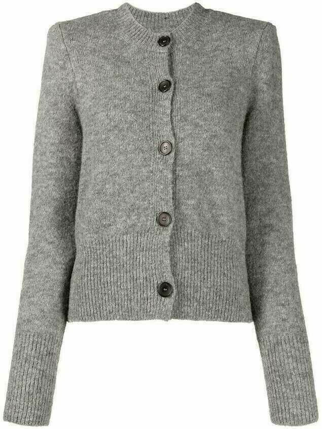 Isabel Marant Étoile button down cardigan - Grey