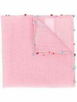 Paul Smith Pin Dot pocket square - PINK