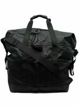 and Wander diamond-quilting holdall - Black