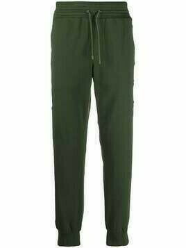 Mr & Mrs Italy multi-patch track trousers - Green