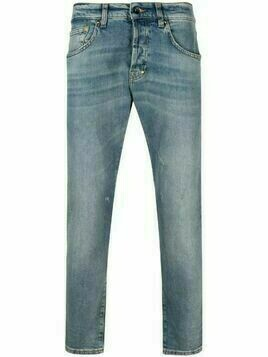 Prps stonewashed straight-leg jeans - Blue