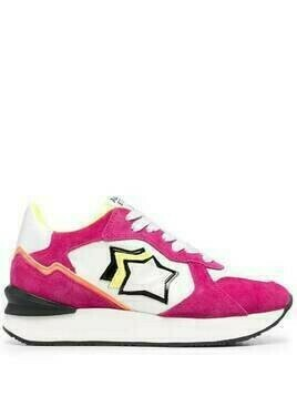 Atlantic Stars star-patch sneakers - Pink