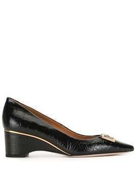 Tory Burch Gigi wedge heel pumps - Black