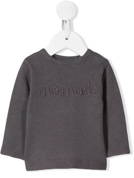 Absorba logo embroidered jumper - Grey
