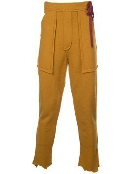 Bed J.W. Ford elasticated waist trousers - Yellow