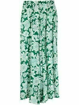 Christian Wijnants floral-print mini skirt - Green