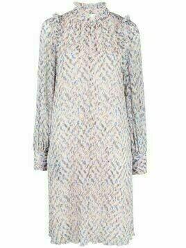 Lala Berlin abstratc pattern tunic dress - Pink