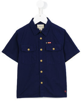 Bellerose Kids shortsleeved shirt - Blue