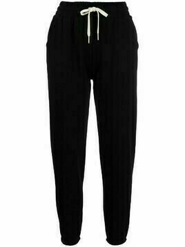 John Elliott LA relaxed-fit track trousers - Black