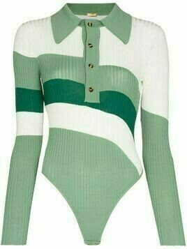 Dodo Bar Or Hera striped bodysuit - Green