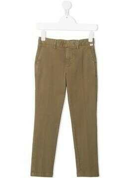 Il Gufo straight-leg chino trousers - Neutrals