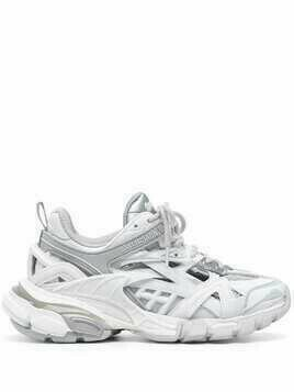 Balenciaga Track.2 Open low-top sneakers - White