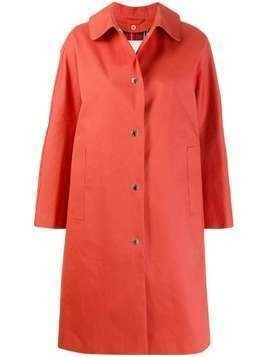 Mackintosh FAIRLIE Jaffa Bonded Cotton Coat | LR-079D - ORANGE