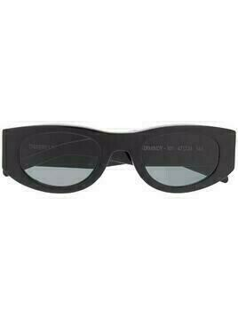 Thierry Lasry Mastermindy oval-frame sunglasses - Black