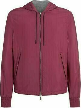 Ermenegildo Zegna hooded zipped jacket - Red