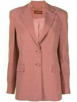 Altuzarra Alastair single-breasted blazer - Pink