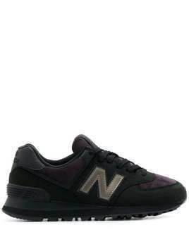 New Balance 574 lace-up sneakers - Black