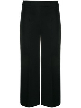 P.A.R.O.S.H. fitted cropped trousers - Black