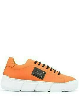Philipp Plein Istitutional low-top sneakers - ORANGE