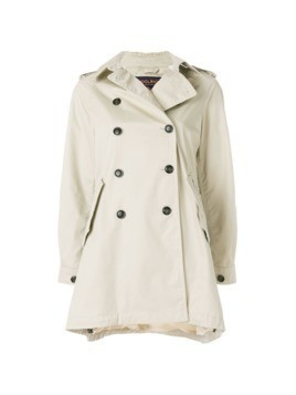 Woolrich short trench coat - Nude&Neutrals