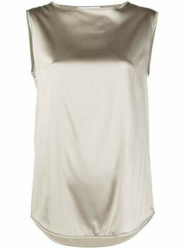 Fabiana Filippi satin blouse - Neutrals