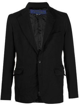 Junya Watanabe MAN fitted single-breasted blazer - Black
