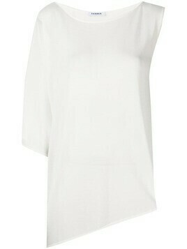 P.A.R.O.S.H. asymmetric knitted top - White