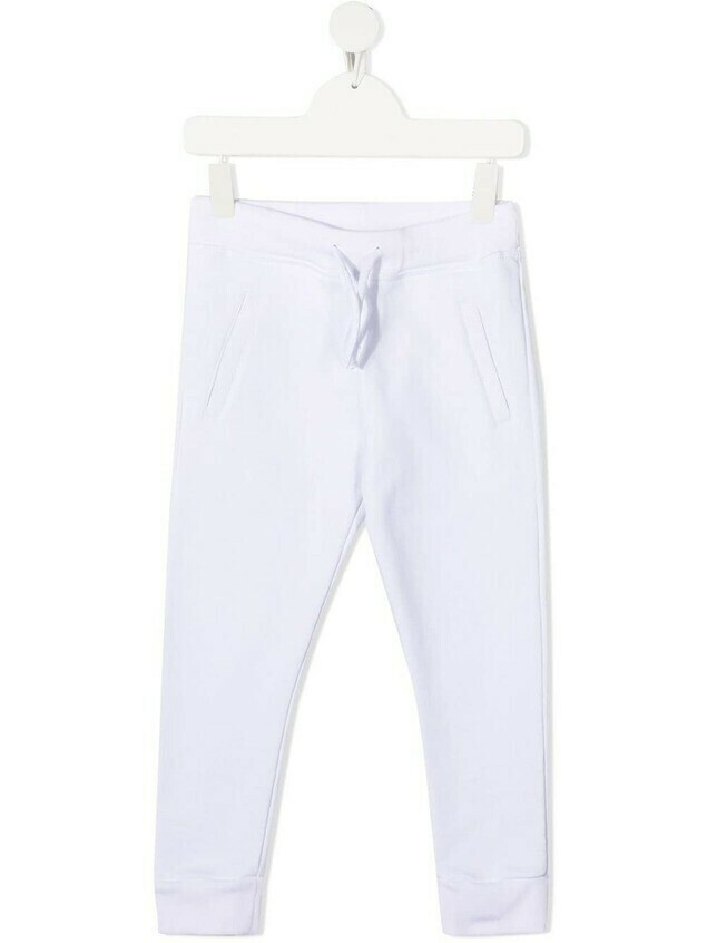 Dsquared2 Kids logo-print track pants - White