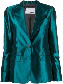 Each X Other tailored satin jacket - Green