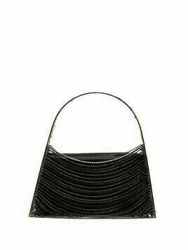 Benedetta Bruzziches Lucia In The Sky crystal-embellished tote - Black