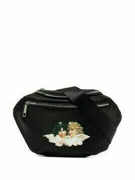 Fiorucci icon angels bumbag black