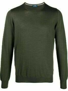 Barba round neck jumper - Green