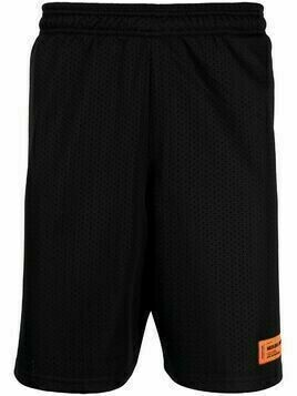 Heron Preston logo-print basketball shorts - Black