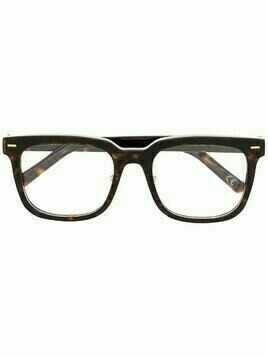 Retrosuperfuture Numero 86 rectangle-frame glasses - Brown