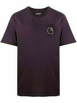 Carhartt WIP Commission logo T-shirt - PURPLE
