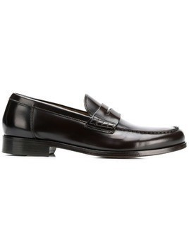 Doucal's penny loafers - Brown