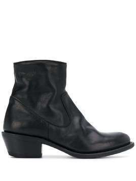Fiorentini + Baker mid-heel ankle boots - Black