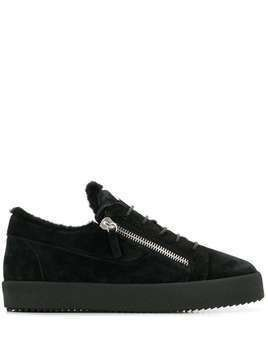 Giuseppe Zanotti Byrel low-top sneakers - Black