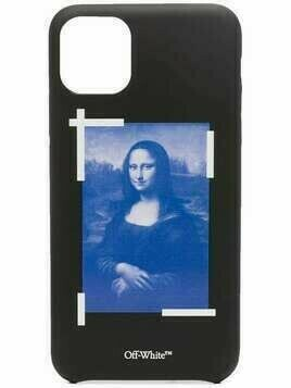 Off-White Mona Lisa iPhone 11 Pro Max cover - Black