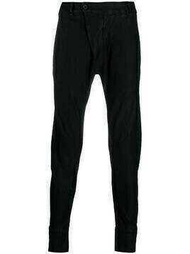 Masnada slim-cut trousers - Black