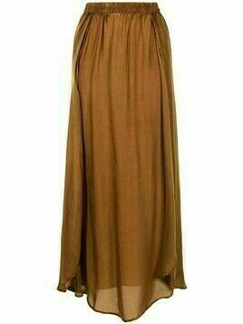 Mes Demoiselles elasticated-waist skirt - Brown