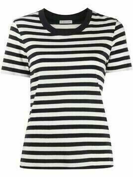 Moncler striped short-sleeve T-shirt - Blue