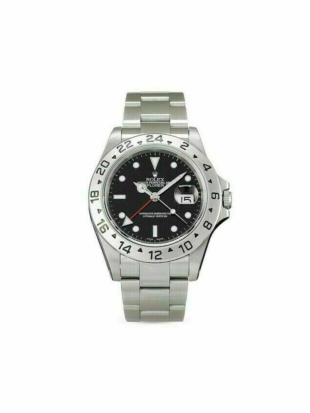 Rolex 2000 pre-owned Explorer II 40mm - Black