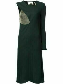 Esteban Cortazar Cocoon midi dress - Green
