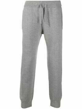 Z Zegna knitted track pants - Grey